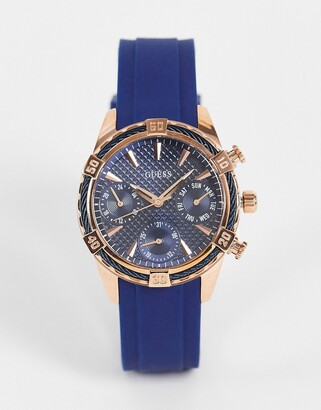 GUESS watch in navy