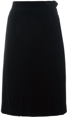 Yves Saint Laurent Pre Owned Knee Length Skirt