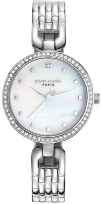 Pierre Cardin Womens Analogue Classic Quartz Watch with Stainless Steel Strap PC108172F04