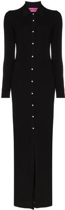 GAUGE81 Buttoned Maxi Dress