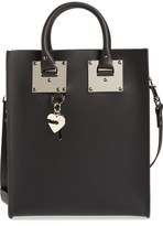 Sophie Hulme 'Mini Albion' Leather Tote