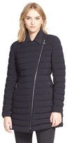 Moncler 'Noues' Collared Down Puffer Coat