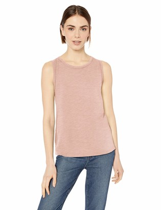 Daily Ritual Lightweight Lived-in Cotton Crewneck Muscle T-shirt Light Pink US S (EU S - M)