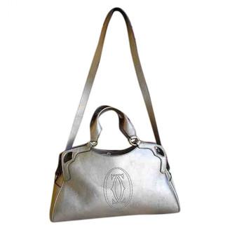 Cartier Marcello Gold Leather Handbags