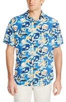Margaritaville Men's Short-Sleeve Bbq Shirt