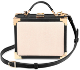 Aspinal of London Women's Mini Trunk Bag Monochrome