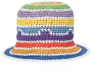 Missoni Mare Striped crochet bucket hat
