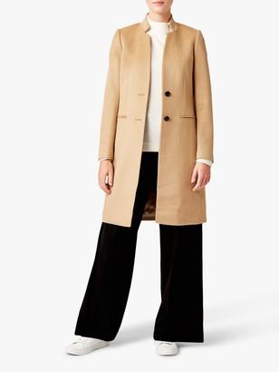 Hobbs Tilda Revere Wool Coat, Camel