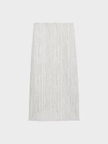 DKNY Pinstripe Scuba Jersey Skirt