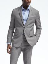 Banana Republic Slim Houndstooth Wool Suit Jacket
