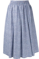 Roberto Collina pleated midi skirt
