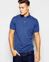 Tommy Hilfiger Polo Regular Fit Blue - Blue