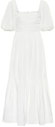 Self-Portrait Bridal taffeta midi dress