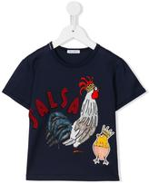 Dolce & Gabbana rooster print T-shirt - kids - Cotton - 2 yrs