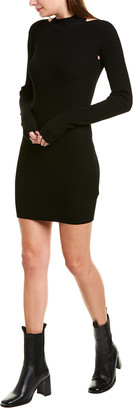 Helmut Lang Open Back Mini Dress
