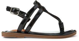 Ralph Lauren Tierney Faux-Leather Sandal