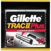 Gillette TRAC II Plus Razor Blade Refill Cartridges - 10 count