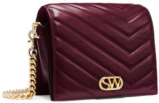 Stuart Weitzman THE DELLA SMALL QUILTED CROSSBODY BAG