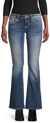 Vigoss Low-Rise Bootcut Jeans