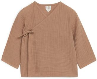 Arket Cotton Wrap Jacket