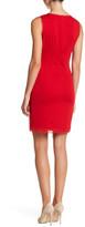 T Tahari Roberta Beaded Lace Yoke Dress