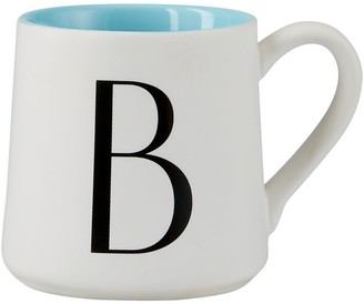 Indigo Monogram Espresso Cup B
