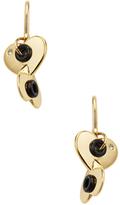 Hole Hearted Drop Earrings