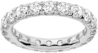 Fire Light Lab Grown Diamond 14K Eternity Ba nd , 3.00 cttw