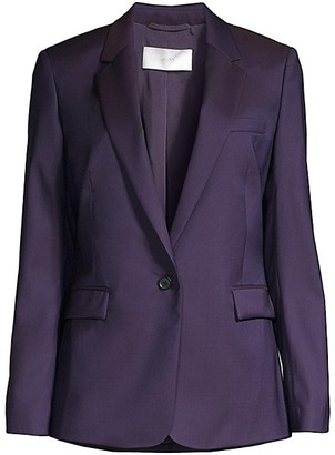 HUGO BOSS Janufa1 Slim-Fit Natural Stretch Virgin Wool One-Button Suiting Jacket