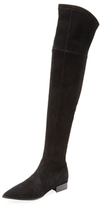 Sigerson Morrison Berry Suede Over The Knee Boot
