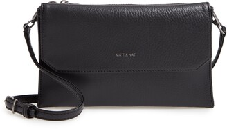 Matt & Nat Suky Vegan Leather Triple compartment Crossbody Bag