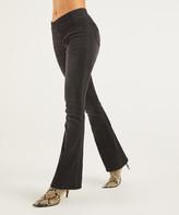 Suzanne Betro Weekend Women's Denim Pants and Jeans 101DARK - Dark Black Wash Bootcut Jeggings - Women & Plus