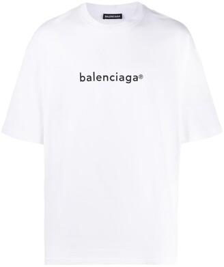 Balenciaga logo print short-sleeve T-shirt