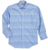 Thomas Dean Boy's Stripe Dress Shirt