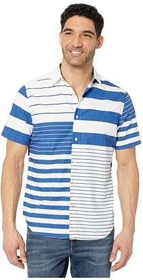 Nautica Fashion Woven (Blue) Men's Clothing