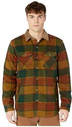 Rip Curl Sundown Wool Flannel (Brown) Men's Clothing