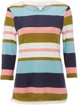 White Stuff Polly Bold Stripe Jersey Tee