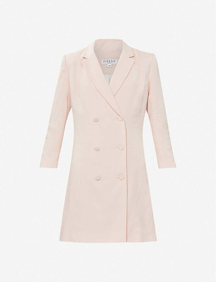 Claudie Pierlot Double-breasted woven mini jacket dress