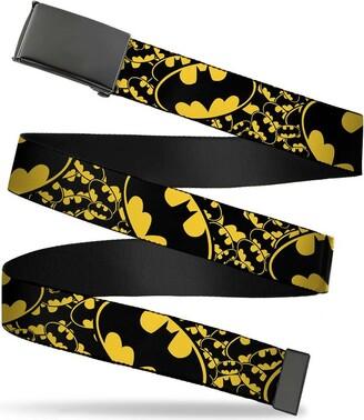 Buckle Down Buckle-Down Men's Web Belt Batman