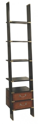 Am Living Library Ladder Shelves Black