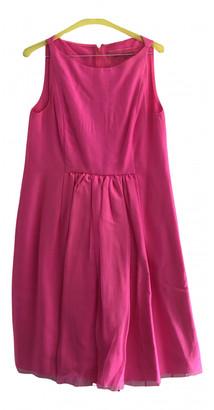Giambattista Valli Pink Silk Dresses