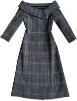 Christian Dior Grey Wool Dress for Women
