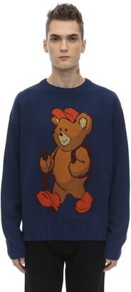 Pam   Perks And Mini Free Bear Merino Wool Blend Knit Sweater