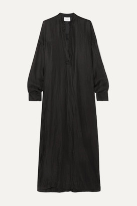 BONDI BORN + Net Sustain Linen Maxi Dress - Black