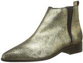 Kiss IKKS Women's Bottine Craquel Boots Gold Size: 5.5-6