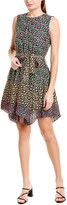 Rebecca Taylor Louisa Silk Mini Dress
