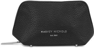 Harvey Nichols Small Black Cosmetics Case