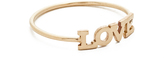Zoe Chicco 14k Gold Love Pinky Ring