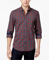 Ben Sherman Men's Tartan Cotton Shirt