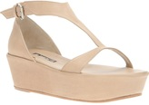 Ann Demeulemeester platform sandal